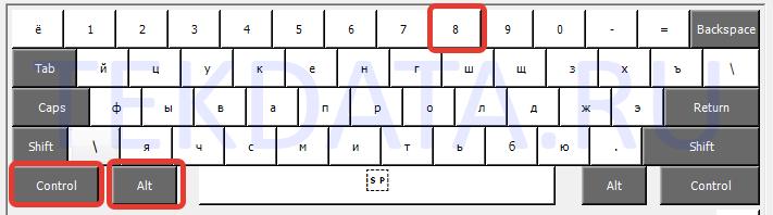 Как ввести символ рубля с клавиатуры